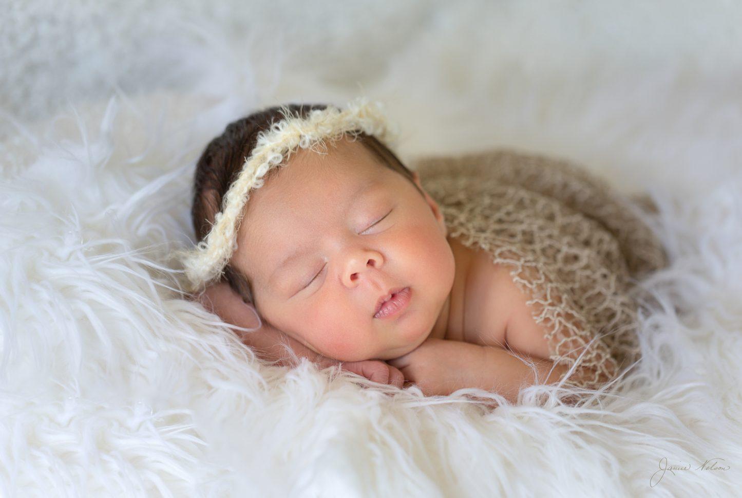 Newborn Photography - Sleeping Baby